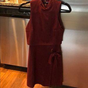 Antonio Melani Dark Red Dress